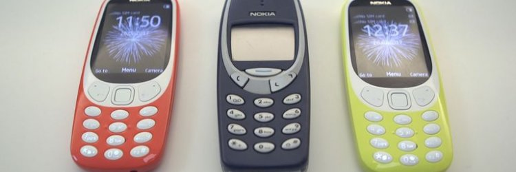 Nokia brings back the old classic 3310, but why not 5110?