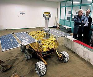 Chinese Lunar Rover Malfunctions